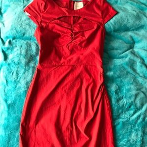 ModCloth pinup red dress medium